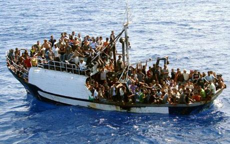Image result for black immigrants boats