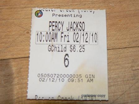 Percy ticket